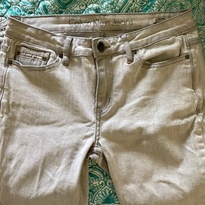 Calvin Klein Jeans Light Washed Ankle Skinny
